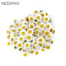 100pcs Artificial Gerbera Daisy Flowers Heads for DIY Wedding Party (White)(China)