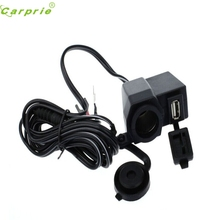 New Arrival 2.1A Weatherproof Motorcycle USB Cell phone GPS Cigarette Lighter Charger M19