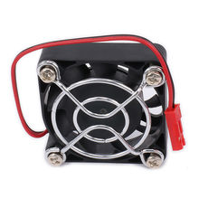 Motor Heatsink Heat Sink Single Cooling Fan 40 30 25 mm JST Plug For 1/8 RC Car Boat Motor ESC HSP HPI Wltoys Himoto Tamiya