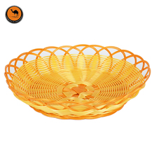 Convenient BBQ Tools 3 Size Imitation Rattan Grilled Food & Fruit Basket Barbecue Accessories Portable Outdoor Gadget 3 pcs/set(China)