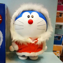 Doraemon The Movie 2017 Action Figure Real Christmas Colthes Ver. Doraemon Doll PVC figure Toy Brinquedos Anime 30CM