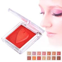 Pure Pigment Single Nude Shimmer Matte Eyeshadow Palette 14 Color Makeup Glitter Artist Eye Shadow Iridescent Finish A4