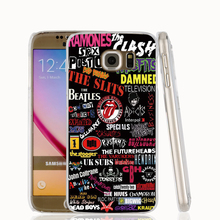 18346 Punk rock Stickers cell phone protective case cover for Samsung Galaxy A3 A5 A7 A8 A9 2016