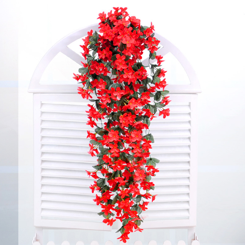 Artificial Flower Baskets Online : Get cheap outdoor artificial flowers hanging