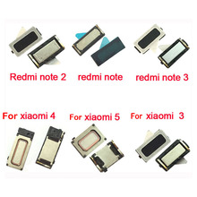 2pcs/Lot,Earpiece Ear speaker For Xiaomi Mi2 Mi3 Mi4 Mi4i Mi4c Mi4s Mi5 Mi5s Redmi 3 3s Redmi Note 2 /Redmi Note 3 /Redmi Note 4