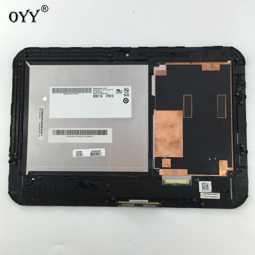 LCD Display touch screen digitizer glass assembly For Toshiba Excite Pad AT10 AT10-A-104 AT10LE-A-108 AT10LE-A-107 69.10128.G02<br>