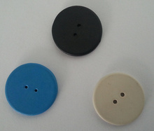 VIKITEK UHF RFID laundry tag 915MHZ 860-960MHZ Alien Higgs3 chip PPS material can be washed