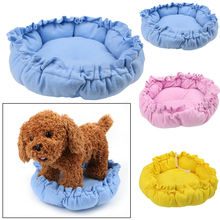 2017 Adjustable Drawstring Pumpkin Pet Bed Pad Dog Kennel Cat Puppy Nest Basket Mat MAR24_15
