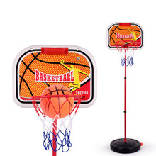 Outdoor Kids Sport Adjustable Portable Stainless steel Basketball Stand Toy liftable kids Mini Basketball HoopBaby Ball sport(China)