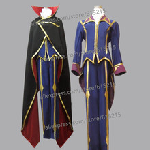 Code Geass Lelouch of the Rebellion R2 ZERO Black Knight Anime Custom Made Uniform Cosplay Costume