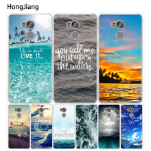 HongJiang Beautiful Ocean Scenery Cover phone Case for Xiaomi redmi 4 1 1s 2 3 3s pro redmi note 4 4X 4A 5A(China)