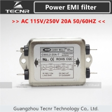 CANNY WELL CW4L2-20A-T Single Phase Power EMI filter AC 115V/250V 20A 50/60HZ