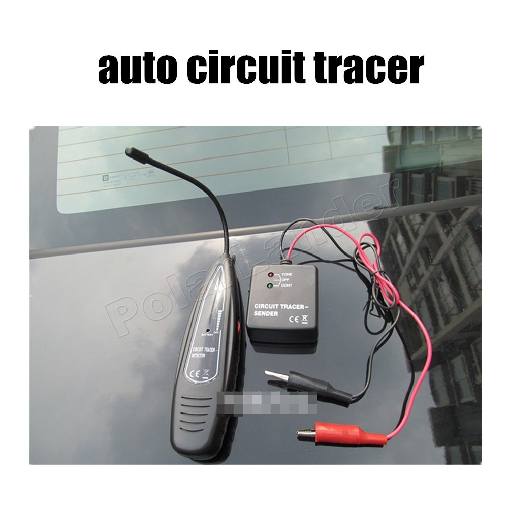 Automotive short Open Finder circuit checker Auto Circuits Tracer Detector detector tracer car styling new arrival <br>