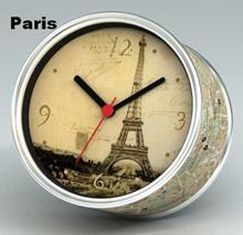 [In Stock] Paris Magnetic Cheap Wall Clocks,Cheap Desk Clocks,Cheap Table Function Clocks in Free Shipping