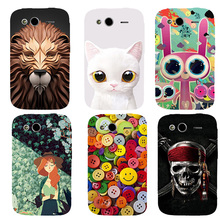 Printed Hard Cover Case for HTC Wildfire S G13 A510e Cases High Quality Ultra thin Slim Painted Fashion Cute Cartoon Shell(China)