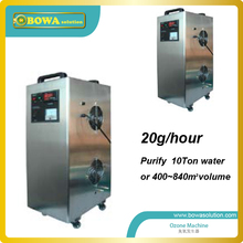 20g/h Ozone machine air & Water Purifier (Paint Solvents, Formaldehyde, Pollutants, Viruses, Bacteria)