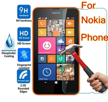 9H Tempered Glass For Nokia Lumia 640 950 430 435 520 530 532 535 630 730 820 830 xl x 930 950 950xl 650 550 540 Protector Film