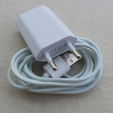 2 in 1 1pcs EU Plug Wall USB Charger+ 1pcs 30pin USB sync data Charging Cable for iPhone 4 4s 3GS IPAD 2 3 ipod nano touch