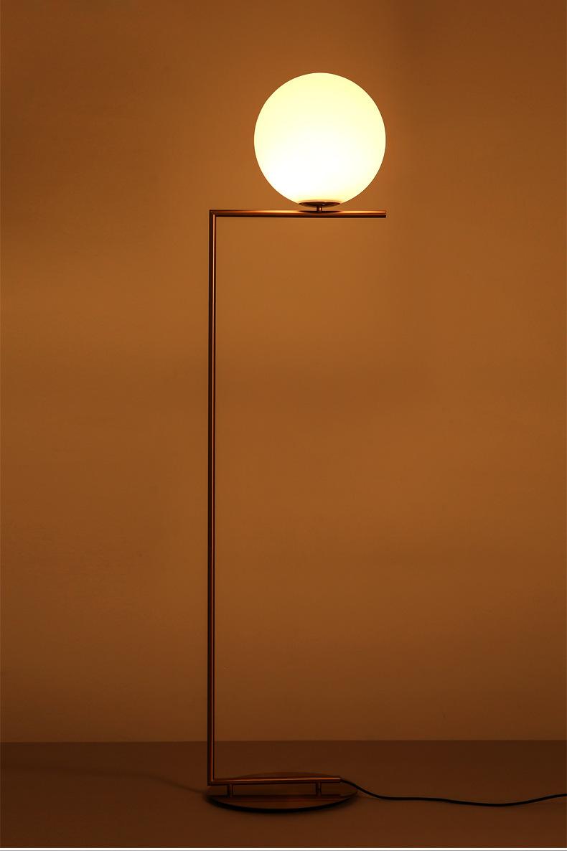 Modern LED Floor Lamp Floor Light Shade Glass Ball Standing Lamp for Bedroom Living Room Gold Designs (17)
