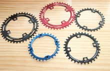 Fouriers 104bcd  narrow wide chainring circle single speed 30 38 40T 42 44 46 48T  MTB bicycle chain wheel
