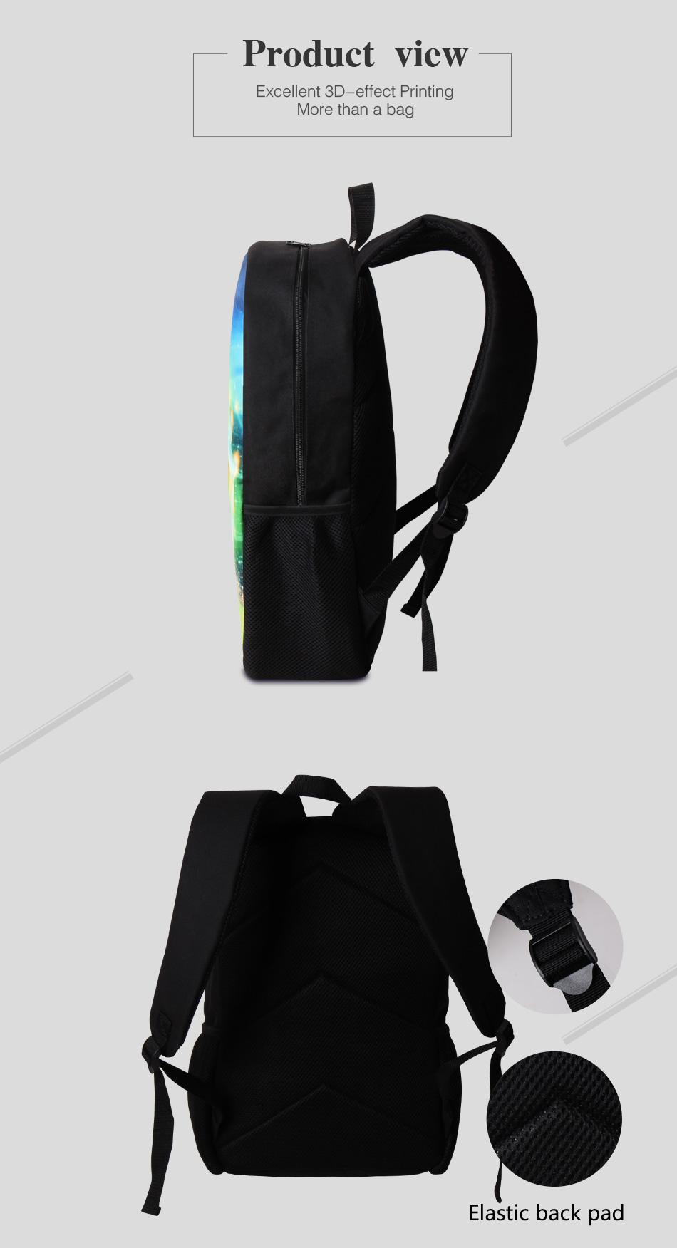 2 backpack schoolbag