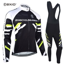 Buy BXIO Brand Winter Thermal Cycling Jersey Sets 2017 New Arrival Long Sleeve Pro Road Bike Clothing Roupas De Ciclismo 006 for $37.89 in AliExpress store