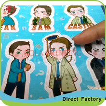 Customized synthetic paper honey label sticker set(China)