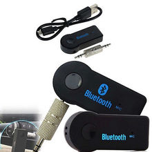 Wireless Bluetooth Receiver Speaker Headphone Adapter 3.5MM Audio Stereo Music Receiver Home Hands-free Bluetooth Plug Universal