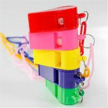 Best-chioce 24pcs Plastic Whistle & Lanyard School Soccer Sport cheerleading Whistle Training Football Whistle Referee Whistle