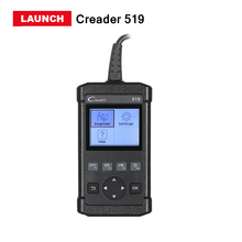 2017 Latest Launch CReader 519 OBD2/EOBD Code Reader scanner CR 519 CR 5001 Car Diagnostic Tool Same as AL519 free update online(China)