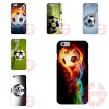 For Galaxy J1 J2 J3 J5 J7 2016 For Huawei G7 G8 Y5II Y6II  Y6 Pro P9 Lite Soft TPU Silicon Cell Bags retro football game ball