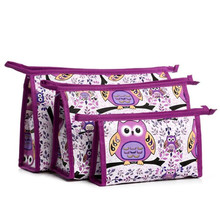 Coneed organizer 3PCS/SET Portable travel cosmetic bag for make up bags  women u61122 DROP SHIP