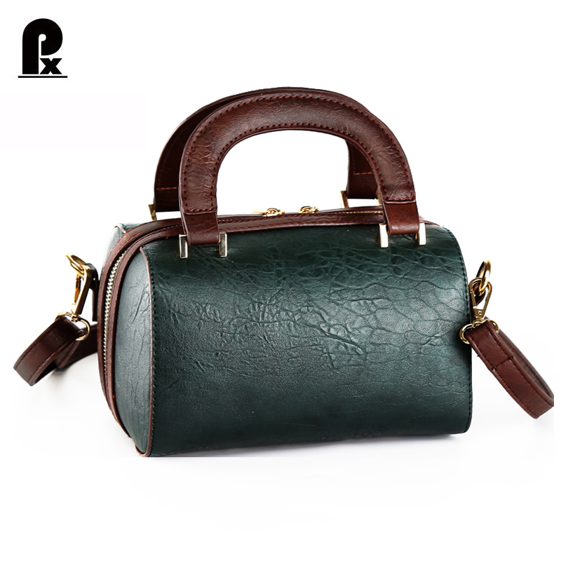 2017 women handbags of famous brand PU Leather Bag Female Luxury Design Black Tote Shoulder Messenger Crossbody Bag sac a main<br><br>Aliexpress