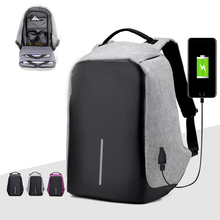 Multifunction USB charging Men Laptop Backpacks For Teenager Fashion Mochila Male Leisure Travel backpack anti thief Gym Bags
