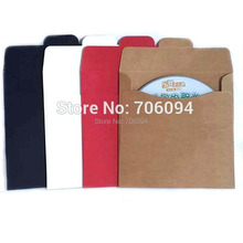 100PCS 12.5x12.5cm  CD sleeve 250gsm thick kraft CD/DVD paper bag Candy Gift packaging bag,custom box need extra cost