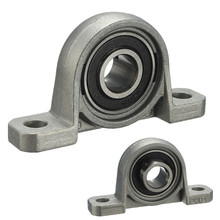 High precision Zinc alloy 12mm Width Metal Self-adjust Pillow Block Ball Bearing Long service life Easy to install(China)