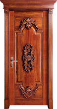 Hot sale top quality and reasonable price exterior and interior solid wood door interior doors with glass pvc interior doors(China)