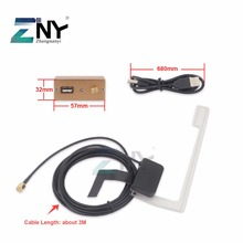ZNY 2017 Europe Universal DAB+ USB Dongle With Antenna For After Market Android Auto Player 4.4/ 5.1/ 6.0 OS DAB+ App Ready(China)