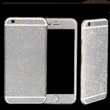 Full Body Decal Skin Bling Glitter Sticker for iPhone 5 5s SE Bling 360 Degree Wrap Phone Case Protector Film for iPhone 5 5g 5s