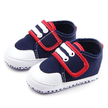 New design 1pair antiskid boy First Walkers, Baby Infant Crib shoes+Age 3-12 Months, Toddle bed footwear(China)