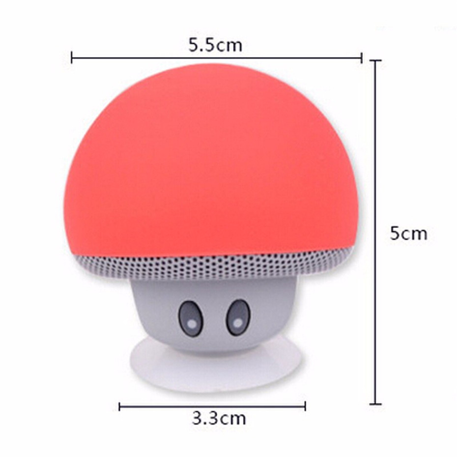 Wireless Mini Bluetooth Speaker Portable Mushroom Waterproof Stereo Bluetooth Speaker for Mobile Phone iPhone Xiaomi Computer PC  (6)