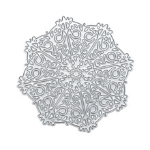 Christmas Snowflake Cutting Dies for DIY Scrapbooking Photo Album Decoration Paper Card Cutter Dies Embossing Metal Stencil