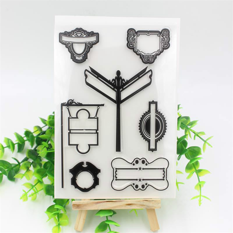 Transparent Clear Silicone Stamp/Seal for DIY scrapbooking/photo album Decorative clear stamp sheets<br><br>Aliexpress