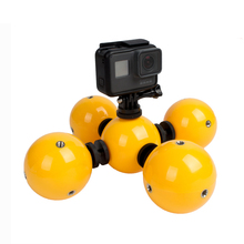 Buy TUOWEI 5pcs Underwater Camera Floating Ball Multi-function Mini Floaty Holder Gopro Hero 5 4 3 SJCAM Xiaomi Yi 2 Accessories for $52.60 in AliExpress store