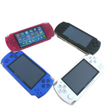 High Quality 4GB PMP Portable Multimedia Player Handheld Game Player 4.3inch MP4 MP5 Game Player With Camera FM
