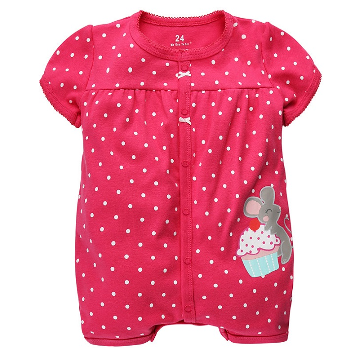 New Arrival 2016 summer baby rompers short sleeve baby boys girls bodysuits polo baby boys & girls overall cotton baby clothing(China (Mainland))