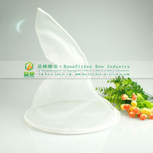 New Practical White Cone Net Filter For Pure Cleaning Honey Strainer Filters Bee Beekeeping Beekeeper(China)