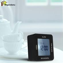 Rotation Sensing Digital Alarm Clock with Timer / Alarm Time / Calendar / Temperature