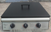 Three burners BBQ girll ,gas BBQ grill, outdoor BBQ grill,desktop grill