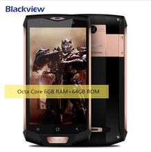 "2017 New Blackview BV8000 Pro Double perturbation Waterproof  MT6737T 5.0""FHD Android 7.0 Mobile Phone 6GB+64GB 16MP cellphone"